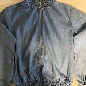 """Blue """"jean"""" jacket"""